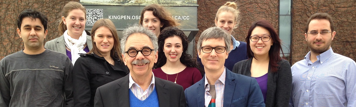 2015-16 Osgoode EJS Clinic members, April 2016