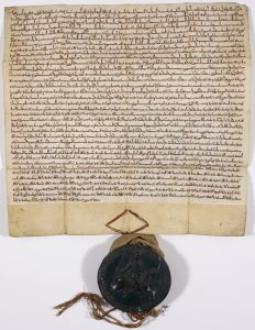 Charter of the Forest 1217 (British Library--public domain)