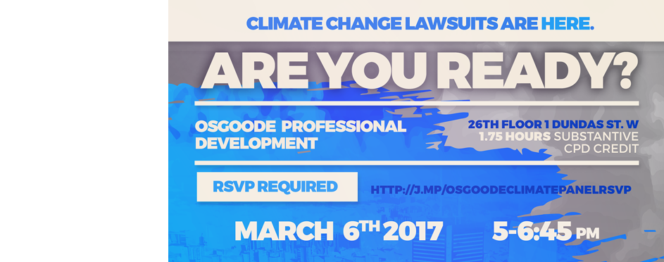 Climate Change Litigation Event