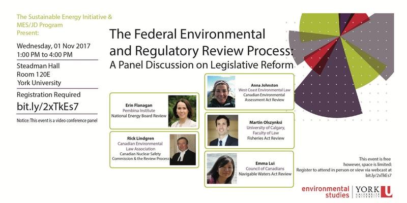 Federal Environmental and Regulatory Review Webinar