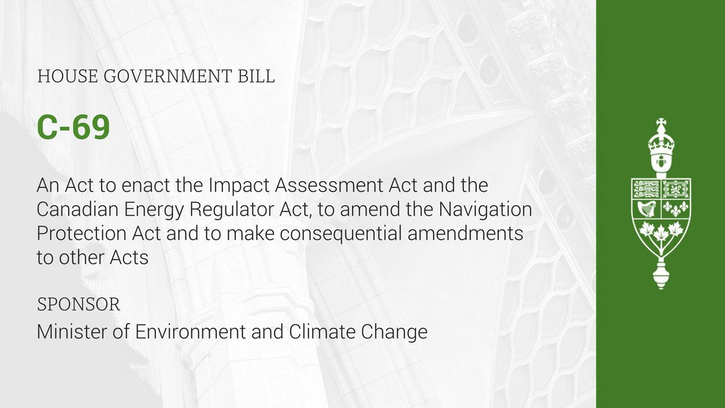 Research-a-thon: Understanding Bill C-69