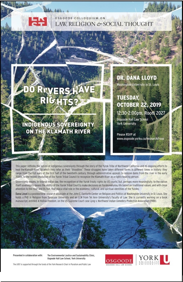 Do Rivers Have Rights? Indigenous Sovereignty on the Klamath River