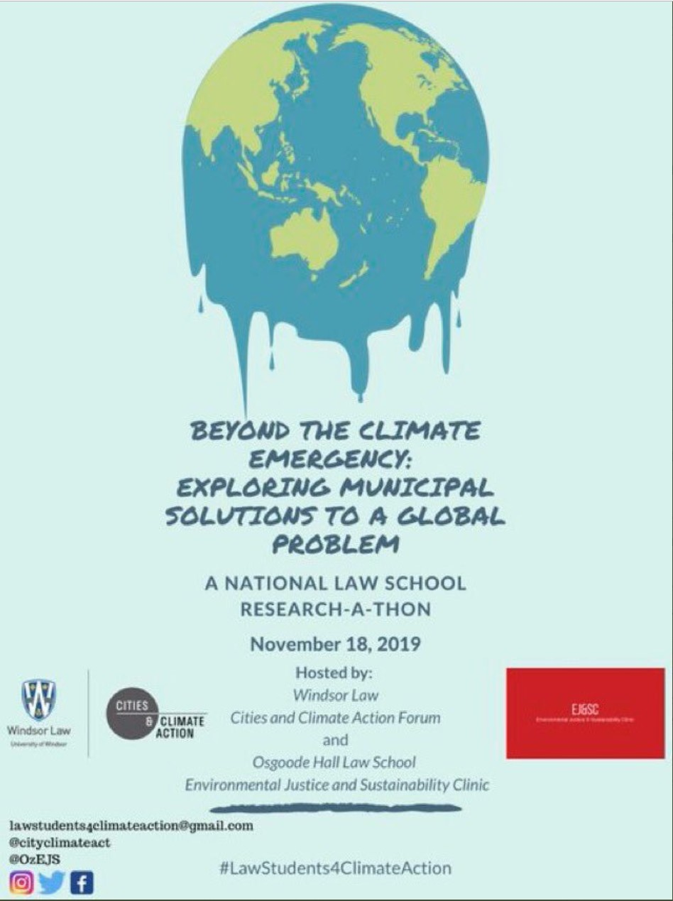 Beyond the Climate Emergency: Exploring Municipal Solutions to a Global Problem